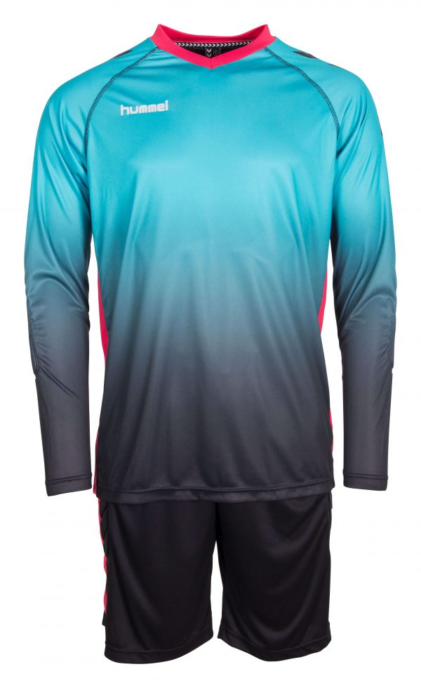Hummel Unity Keeperstenue Shirt En Short Blauw