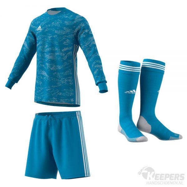 Adidas Pro Keeperstenue Blauw