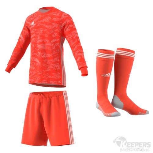 Adidas Pro Keeperstenue Rood