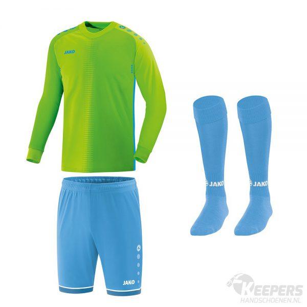 Jako Competition 2.0 Keeperstenue Groen/Blauw