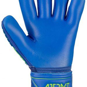 Reusch Attrakt Freegel S1 Finger Support Junior Deep Blue