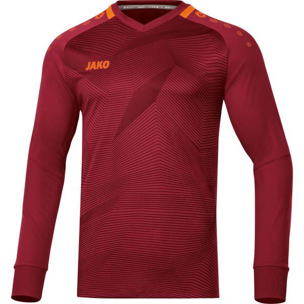 Jako Goal Keepershirt Wijnrood/Fluo Oranje